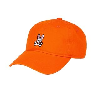 Psycho bunny orange hat